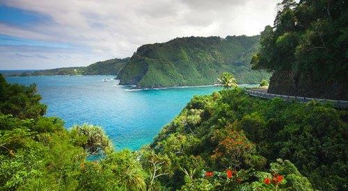Maui Coastline Road to Hana