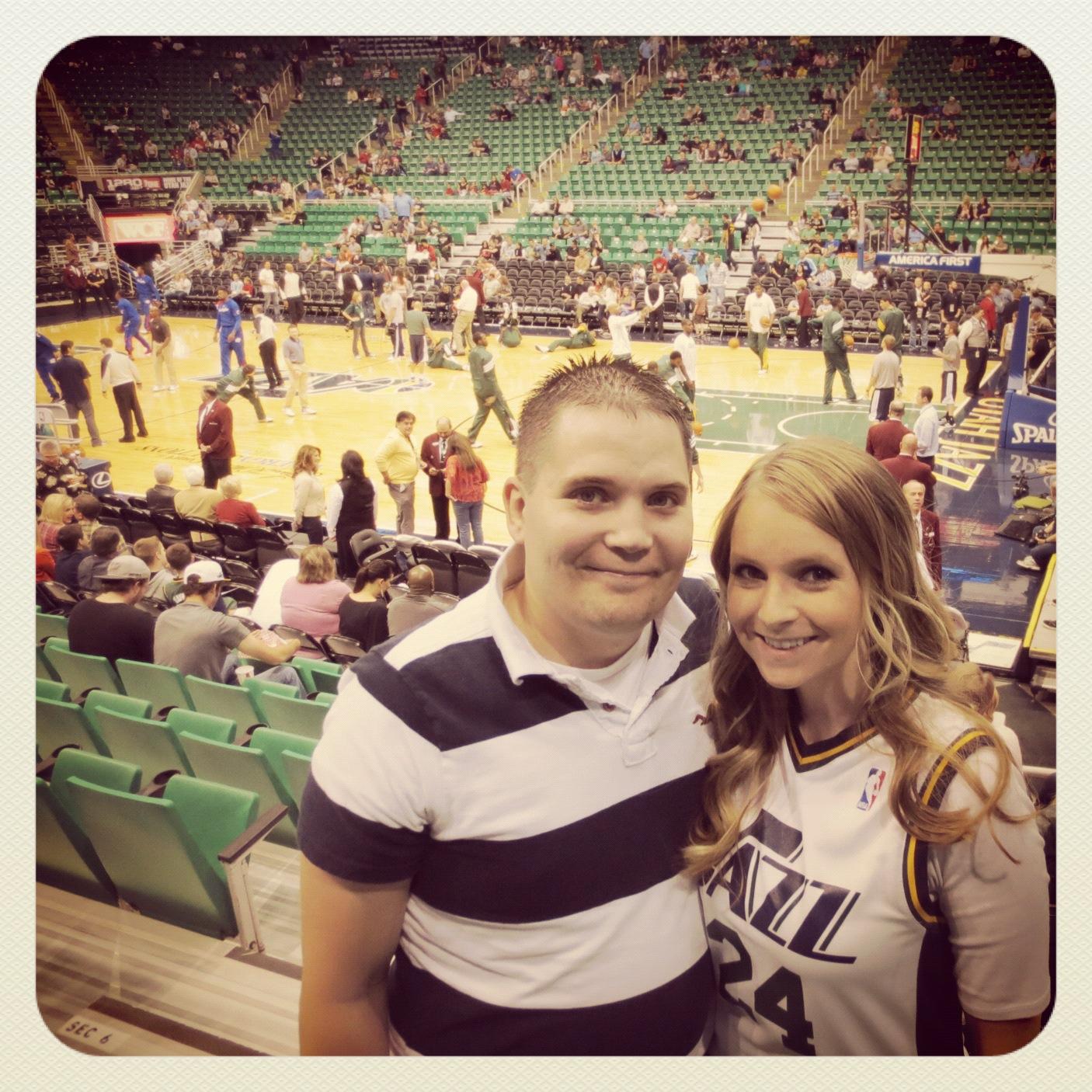 Utah Jazz Row 8