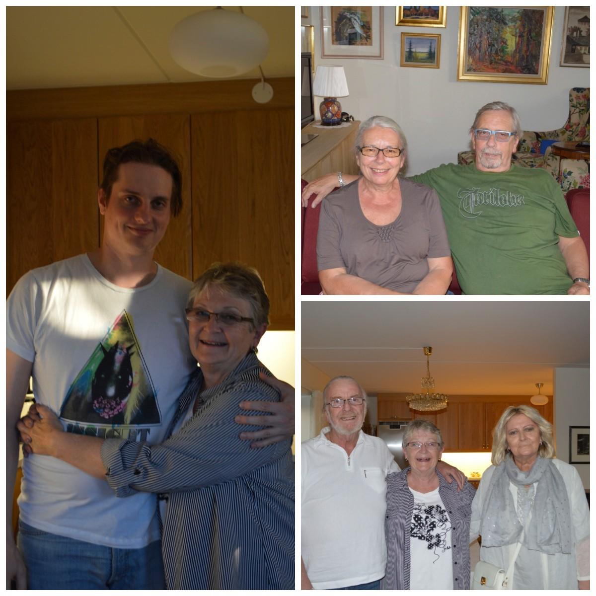 Norwegian Family Collage