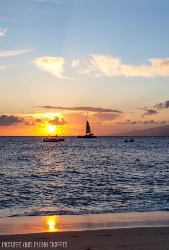 Ka'anapali Sunset