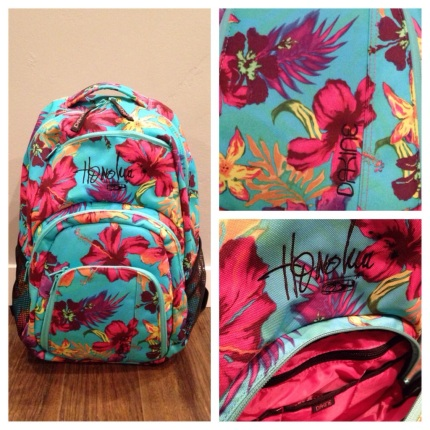 Honolua Teal DaKine backpack