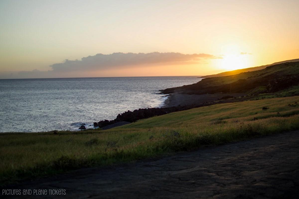 Backside-sunset