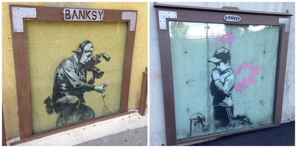 Bansky Collage