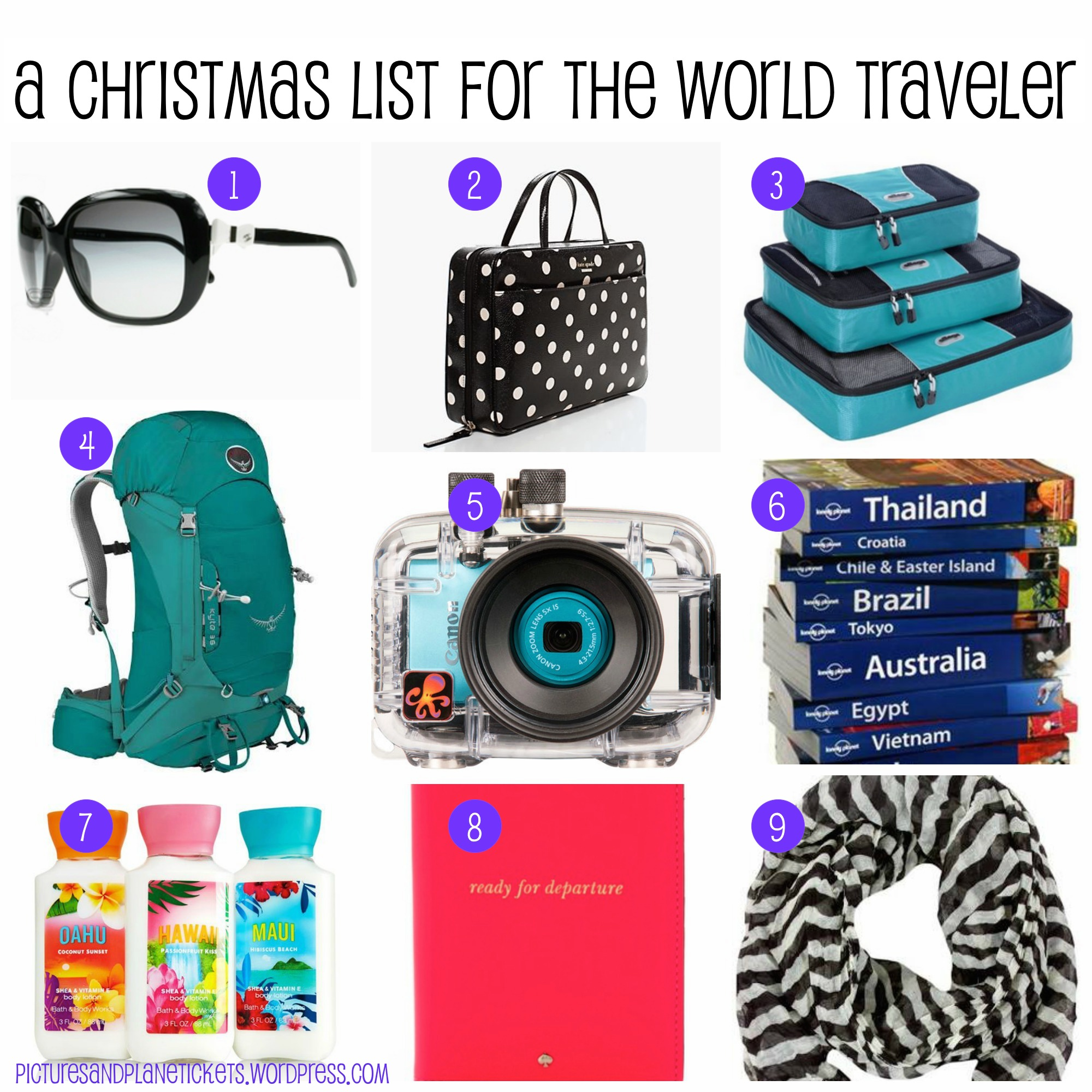 Christmas List Collage