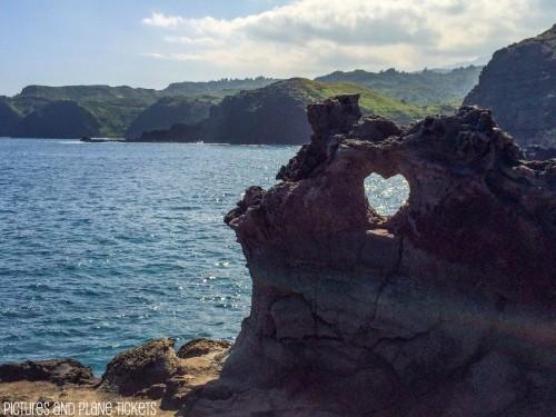 Heart Rock in Maui