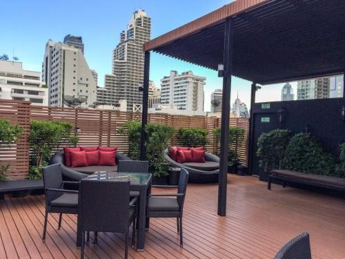 Rooftop pool in Bangkok